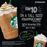 Starbucks Frappuccino for only RM9 Promotion