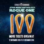 Street Churros Star Wars Anthology Rogue One Movie Tickets Giveaway
