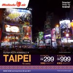 Malindo Air: Fly to Taipei from only RM299