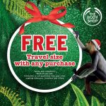The Body Shop Travel Size Product Giveaway