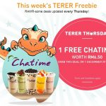 FREE Chatime Drink Giveaway