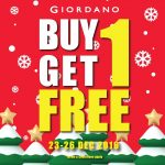 GIORDANO Buy 1 FREE 1 Promotion!