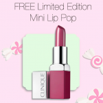 Clinique Lip Pop Giveaway