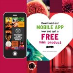 The Body Shop FREE Mini Product Giveaway