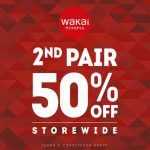 Wakai Shoes at Storewide 50% Discount!