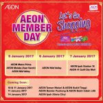 AEON Member Day Cash Voucher Giveaway!