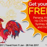 AirAsiaGo FREE Flights Promotion 2017