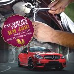Car Service Package at only RM488 + FREE RM200 Ang Pow Voucher