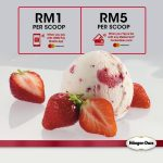 Haagen Dazs Ice Cream at only RM1 Promotion