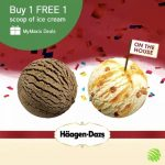 Haagen Dazs Buy 1 FREE 1 Promo at ALL Outlets