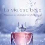 Lancome La Vie Est Belle Fragrance Sample Giveaway