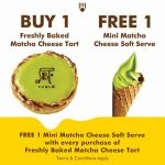 Pablo Matcha Cheese Soft Serve Giveaway