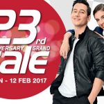 Sogo Anniversary Grand Sale