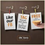 De' Lava Baked Cheese Tart Giveaway