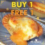 Mr. Chizu Salted Egg Yolk Cheese Tart Buy 1 FREE 1 Promotion