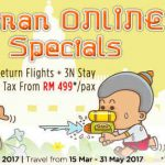 AirAsiaGo Songkran Return Flights + 3N Stay + Tax from only RM499 per pax