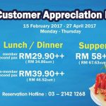 JOGOYA Lunch and Dinner Buffet from only RM29.90