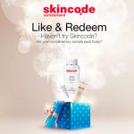 Skincode Sample Giveaway