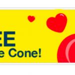McDonalds Sundae Cone Giveaway