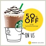 Starbucks Handcrafted Beverage at 50% Discount