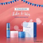 Laneige Good Night Kit Giveaway