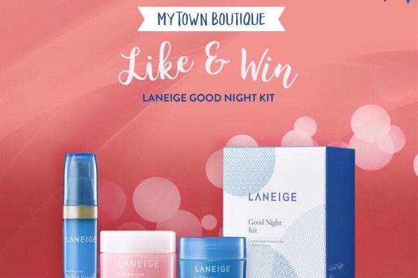 Laneige Good Night Kit Giveaway