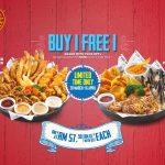 The Manhattan Fish Market Platter Buy 1 FREE 1 Promotion