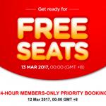 AirAsia FREE Seats Promotion 2017 / 2018
