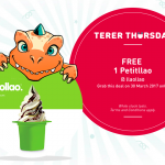 llaollao Frozen Yogurt Giveaway