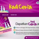 Kad Ceria: Diskaun sehingga 30% bagi barangan, makanan dan perkhidmatan!
