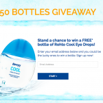 Rohto Cool Eye Drops Giveaway