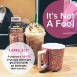 Starbucks Merchandises at 50% Discount
