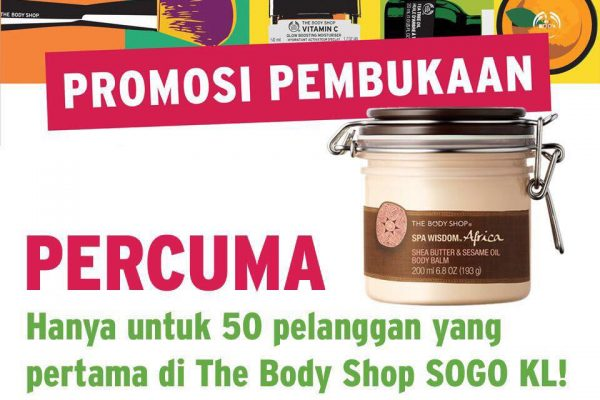 The Body Shop Shea Butter &  Sesame Oil Body Balm Giveaway