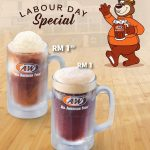A&W Root Beer for only RM1 Promotion