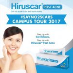 Hiruscar Post Acne Samples Giveaway
