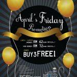 JOGOYA April's Friday Promotion