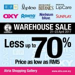 Mentholatum Warehouse Sale: Enjoy Discount up to 70%!