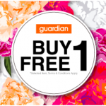 Guardian Buy 1 FREE 1 Promotion