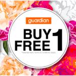 Guardian Buy 1 FREE 1 Promotion
