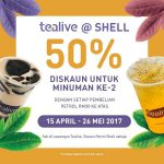 Tealive Drink at 50% Discount