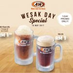 A&W Root Beer for only RM1 Promo at ALL Outlets