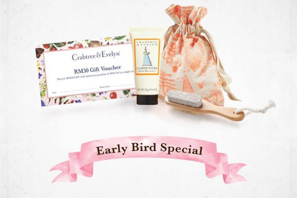 Crabtree & Evelyn Exfoliation Kit and RM30 Voucher Giveaway