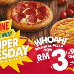 Domino's Personal Pizza for only RM3.90 Promotion
