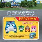 Robocar Poli Soft Toy Giveaway