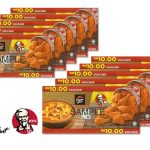 KFC Pizza Hut Voucher at 31% Discount