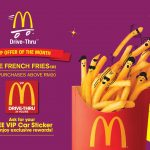 McDonald's French Fries Giveaway