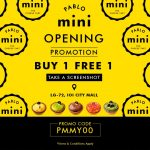 Pablo Mini Buy 1 FREE 1 Promotion
