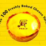 PABLO Freshly Bakes Cheese Tarts Giveaway