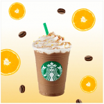 Starbucks Valencia Orange Mocha for only RM7.50