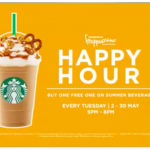 Starbucks Ramadan Buy 1 FREE 1 Promotion